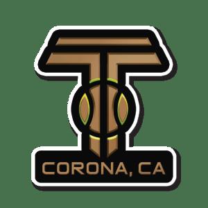 Corona CA Tennis Keychain
